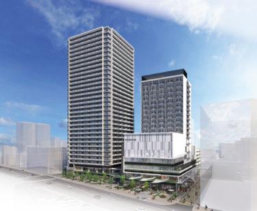 岡山市北区駅前町のホテル棟が2階分減築へ!!ホテル棟は16階に!?