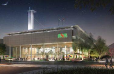 動き出す岡山市大型再開発、イノベーティブ・メディアセンター着工