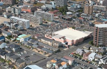 JR西日本所有のマルナカ東古松店が解体!?またも大元駅前で再開発か?
